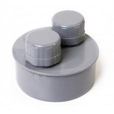 Аэратор канализационный(серый) ф110