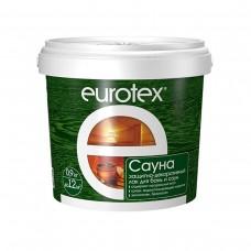 EUROTEX-Сауна Лак защитный для дерева (0,9кг)