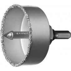 Коронка чаша ЗУБР 51 мм высота 25 мм, в сборе с держ и сверл. (33360-051)