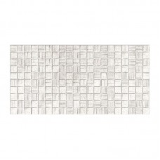 Плитка настенная АКСИМА Мегаполис 250х500х8мм мозаика серая (10 шт)