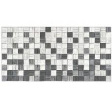 Плитка настенная АКСИМА Мегаполис 250х500х8мм мозаика темно- серая (10 шт)