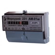Счетчик электр. Меркурий 231 АМ-01 трехфазн. однотарифн. 5(60)А (9751974)