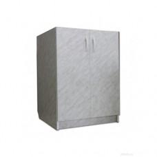 Тумба 600 белая 2-створчатая (27535)