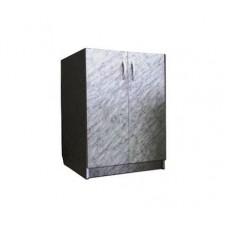 Тумба 600 белый мрамор 2-створчатая (27537)