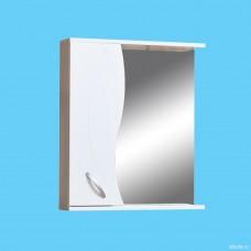 "Шкаф зеркальный ""Валенсия"" 500 (левый) ЭКО(52589)"