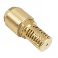 """Обратный клапан 1"""" с сеткой (сетка-лат, толкатель-лат) Unipump (48376)"""