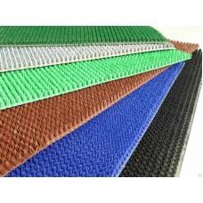 Щетинистое покрытие ковр.серое.тем.зеленый черн.15*0,9м