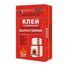 Клей для печной плитки жаростойкий (25кг) ТЕРРАКОТ