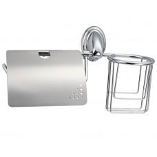 Держатель для туалетной бумаги+держатель дезодоранта F1503-1FRAP(34727)