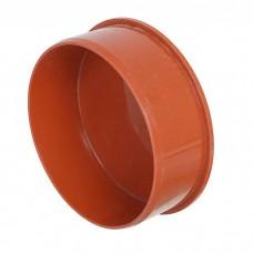 Заглушка канализационная(оранж) ф110 (45190)