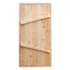Дверь Банная 150х80 ХВОЯ
