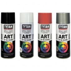 Эмаль аэроз.TYTAN Professional Art of the colour белая глянец (9003)