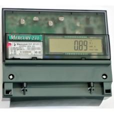 Счетчик электр. Меркурий 231 АТ-01I трехфазн.многотарифн. (32431)