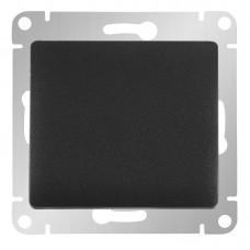 Выключатель одноклав. в рамку антрацит GLOSSA (4059997)