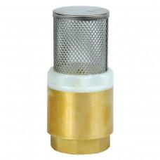Клапан обратный 1 из латуни с сеткой ALBA (48376)