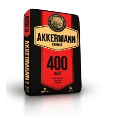 Цемент-М 400 III/А-32,5 H Akkermann Оренбург 50кг