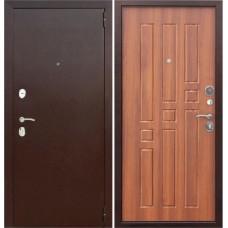 Дверь металл.Гарда 8мм. Рустикальный дуб(860Л) Левая