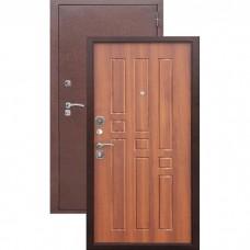 Дверь металл.Гарда 8мм. Рустикальный дуб(960П) Правая