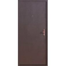 Дверь металл.Стройгост 5 мет./мет. 960 Лев.