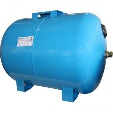 Гидроаккумулятор 100СT2 синий,горизонтальный 2 выхода