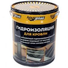Мастика битумная-резиновая aguaMast (10кг)для кровли