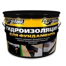 Мастика битумная aguaMast ведро (3кг)для фундамента