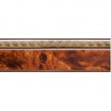 Карниз потолочный Дамира 50мм Карельская береза 1,6м