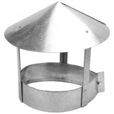 Зонт для трубы на 105-120 оцинк