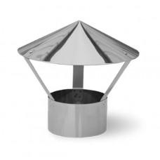 Зонт для трубы на 125-140 оцинк
