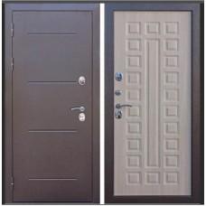 Дверь металл.ISOTERMA Медь антик 11см.Листв.мокко(860П) Правая