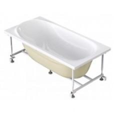 Ванна акрил.DOMANI -Spa Classic 150*70*59 каркас метал.УСИЛЕННАЯ рама (57682)