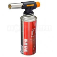 Горелка газ.пьезо с цанговым захватом,широкое сопло,14,3х4х6,7см G-005 РУССО ТУРИСТО