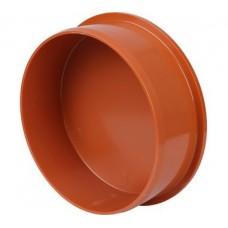 Заглушка канализационная(оранж) ф160 (27556)