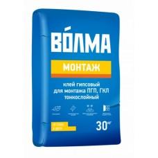 КЛЕЙ ВОЛМА МОНТАЖ 30кг