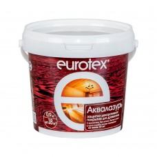 """Аква-лак """"EUROTEX"""" бесцветный 0,9кг"""