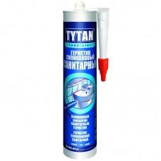 Герметик TYTAN Euro-Line Силиконовый Санитарный белый 290мл.