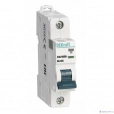 Выключатель автоматический DEKraft 1P- 6A(9810729)
