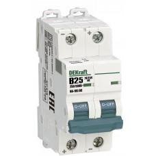 Выключатель автоматический DEKraft 2P-25A(9810745)