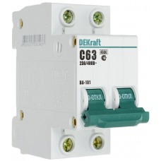 Выключатель автоматический DEKraft 2P-63A(9810749)