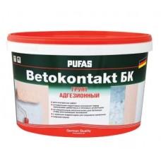 Грунтовка для повышения адгезии Бетоконтакт БК для внутр.работ мороз.(26кг)  ПУФАС