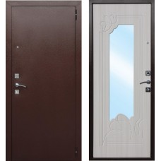 Дверь металл.Ампир Белый Ясень 860Л