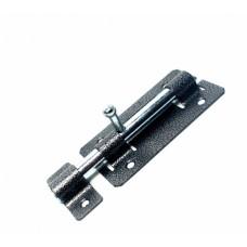 Задвижка дверная ЗД-01 (пол,серебро) (25368)