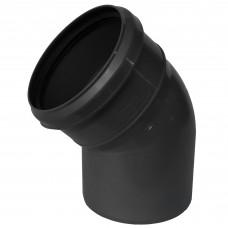 Отвод канализационный(черный) ф110*45
