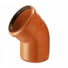 Отвод канализационный(оранж) ф110*135