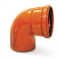 Отвод канализационный(оранж) ф110*90
