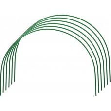 Парниковая дуга сталь с ПВХ покрытием (1комп-6шт) 2м (50093)