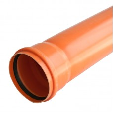 Труба канализационная(оранж) ф110*3,2*1000 (33259)