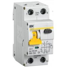 Выключатель автом. дифференц. IEK 1П+N 25A (MAD22-5-025-C-30)