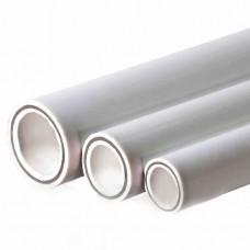 Труба ПП армированная алюминий ф 20 (4,0м)(52187)