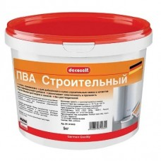 Пластификатор для строит.растворов и бетона на основе ПВА Строительный Декоселф (5кг) ПУФАС